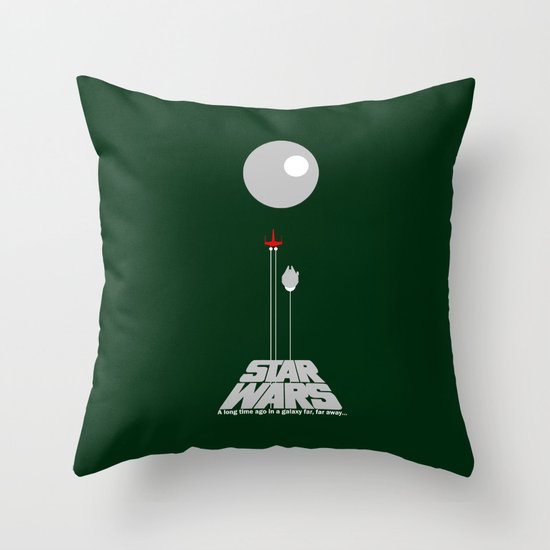 A New Hope IV Throw Pillow