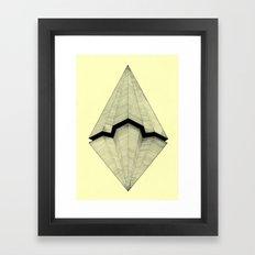 Paper Planes Framed Art Print