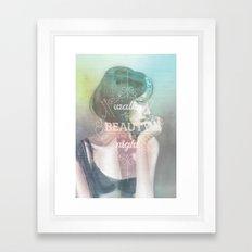 Walks in Beauty Framed Art Print