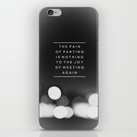 Parting iPhone & iPod Skin