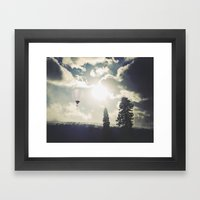Telluride Sunset Framed Art Print