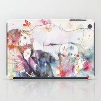 dreamy insomnia iPad Case