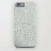 iPhone & iPod Case featuring 2,173 Pugs on Graph Paper by Mai Ly Degnan