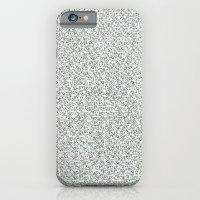 2,173 Pugs On Graph Pape… iPhone 6 Slim Case