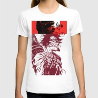 Sea Of Red Womens Fitted Tee White SMALL