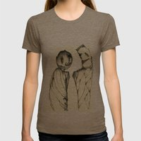 Duel Womens Fitted Tee Tri-Coffee SMALL