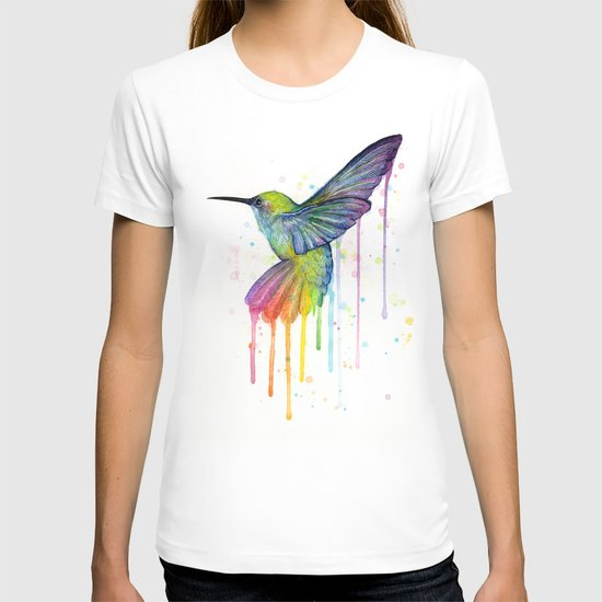 Hummingbird Watercolor T-shirt