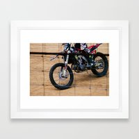 Dirt'n Framed Art Print