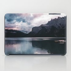 Lake Minnewanka iPad Case