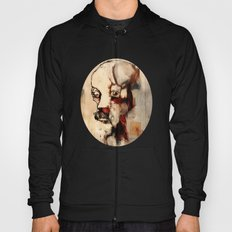 Portrait of a Distracted Man Hoody