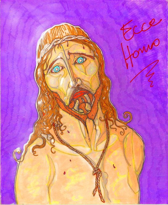 Ecce Homo ! Art Print
