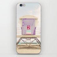 Lifeguard Tower 2  iPhone & iPod Skin