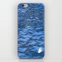 Man & Nature - The Dange… iPhone & iPod Skin