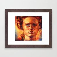 Maybe He'll Give Me Your… Framed Art Print