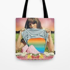 Internal Rainbow II Tote Bag