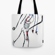 Harlequin Oddity Tote Bag