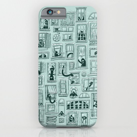 I've Seen Strange Things in City Windows iPhone & iPod Case