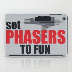 Set Phasers to Fun! iPad Case