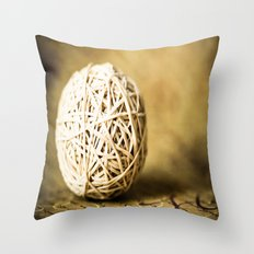 banded Throw Pillow