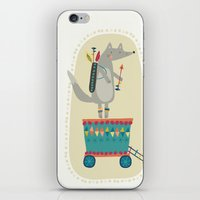 Wolf Adventure iPhone & iPod Skin