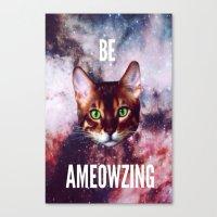 be ameowzing Canvas Print