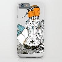 iPhone & iPod Case featuring Redhead by Zina Kazantseva