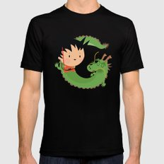 G is for goku SMALL Mens Fitted Tee Black