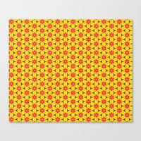 Vandenbosch Yellow Canvas Print