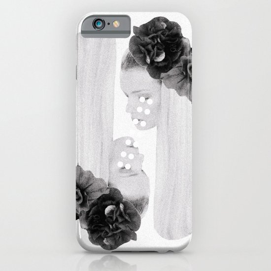 selene and eos (black and white) iPhone & iPod Case