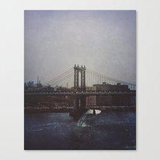 Manhattan Bridge of Whales Canvas Print