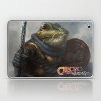 A knightly Frog  Laptop & iPad Skin