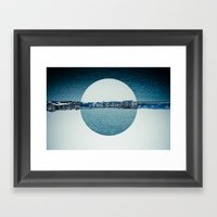 Geneva Circles Framed Art Print