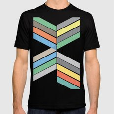 convergence SMALL Mens Fitted Tee Black