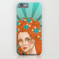 iPhone & iPod Case featuring Morgana De Lisle by SL Scheibe