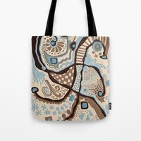 Crowded Land  Tote Bag
