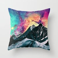 Darling Mountains Throw Pillow