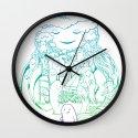 Absent Friends Wall Clock