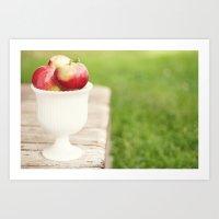 Sweet Harvest Art Print
