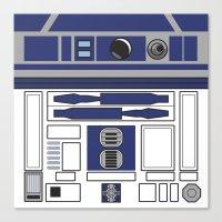 R2D2 - Starwars Canvas Print
