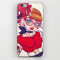 Rockabilly Futakuchi Peg… iPhone & iPod Skin