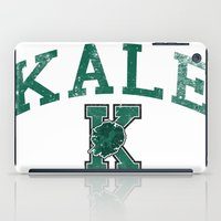 University Of Kale iPad Case