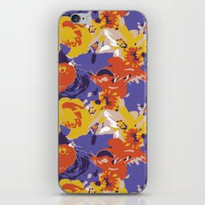 Retro Floral iPhone & iPod Skin