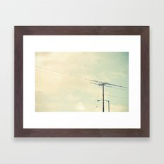 breaktime Framed Art Print