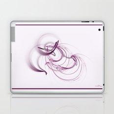 Lavender Swirls Laptop & iPad Skin