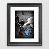 True.Love Framed Art Print