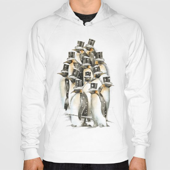 A Gathering in the Snow Hoody