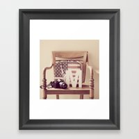 Travel Kit  Framed Art Print