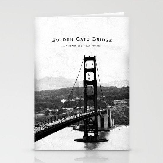 Golden Gate Bridge - San Francisco Stationery Card