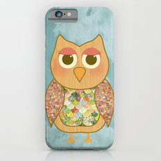 Woodland Owl in a Tree iPhone 6s Slim Case