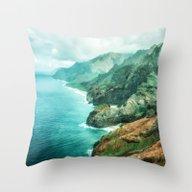 Na' Pali Coast 2015 Throw Pillow